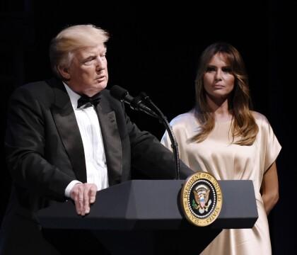Melania Trump prépare l'anniversaire de Donald Trump, en plein scandale