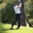 """Marco Simone - Compétition """"Old Course"""" lors du Mapauto Golf Cup à Saint-Raphaël-Valescure. Le 10 juin 2017"""