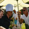 """David Ginola - Compétition """"Old Course"""" lors du Mapauto Golf Cup à Saint-Raphaël-Valescure. Le 10 juin 2017"""