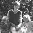 Diana Spencer, ancienne assistante maternelle au jardin d'enfant - en 1981