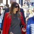 La femme de Donald Trump, Melania Trump et son fils Barron Trump vont déjeuner au restaurant Serafina à New York, le 17 novembre 2016. Barron Trump porte des tennis New Balance