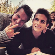 Julien Castaldi est le sosie de son père Benjamin !