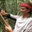 """Clémentine gagne la course d'orientation - Finale de """"Koh-Lanta Cambodge"""", le 16 juin 2017 sur TF1."""