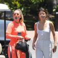 Exclusif - Selena Gomez arrive aux studios Sony à Los Angeles le 13 juin 2017.