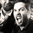 Corey Sligh et Bruce Miller au Sound Nightclub. Photo publiée sur sa page Twitter, le 19 juillet 2013