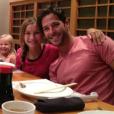 Corey Sligh au restaurant avec ses nièces. Photo publiée sur sa page Twitter, le 12 juillet 2012