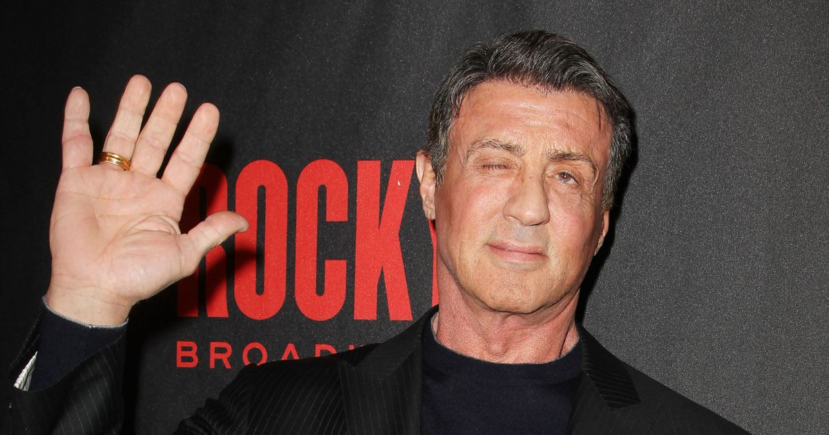 Sylvester Stallone à New York le 13 mars 2014. - Purepeople
