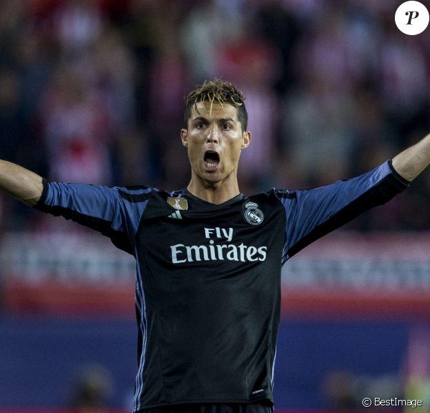 Cristiano Ronaldo lors du match de Ligue des Champions, Demi-finale, Match 2, Atlético Madrid - Real Madrid au stade Vicente Calderon à Madrid, Espagne, le 10 mai 2017.
