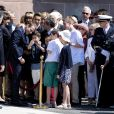 Emmanuel Macron participe à la cérémonie de commémoration de l'Appel du 18 juin du Général de Gaulle au Mont Valérien le 18 juin 2017. © Pierre Perusseau / Bestimage