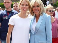 Brigitte Macron : Chic en jean avec Tiphaine au Touquet, Emmanuel loin d'elle