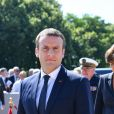 Sylvie Goulard, ministre des Armées - Emmanuel Macron participe à la cérémonie de commémoration de l'Appel du 18 juin du Général de Gaulle au Mont Valérien le 18 juin 2017. © Christian Liewig / Pool / Bestimage