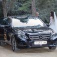 Mariage du footballeur espagnol du Borussia Dortmund Marc Bartra et de Melissa Jimenez à Barcelone le 18 juin 2017.