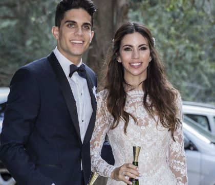 Marc Bartra : Mariage avec sa belle Melissa, deux mois après l'attentat
