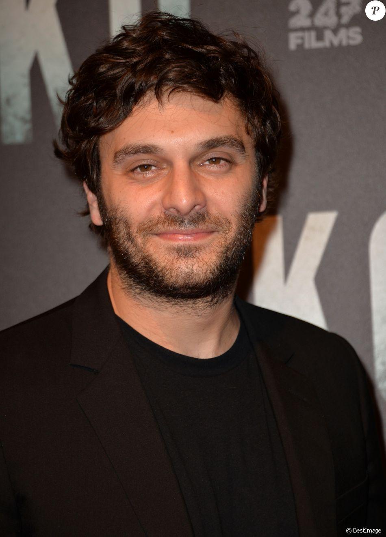 Pio Marmaï lors de l'avant-première du film ''K.O'' à Paris, le 9 juin 2017.