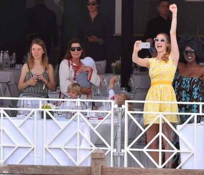 Beatrice Borromeo et son bébé Stefano, supporters stars de Charlotte Casiraghi