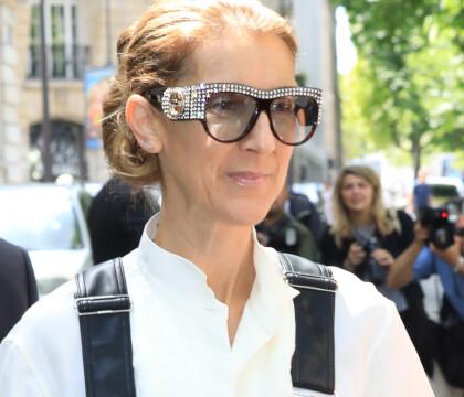 Céline Dion, fashion addict à Paris : Sa sortie remarquée en salopette en cuir