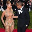 Beyoncé Knowles et son mari Jay-Z - Soirée Costume Institute Gala 2015 (Met Ball) au Metropolitan Museum célébrant l'ouverture de Chine: à travers le miroir à New York, le 4 mai 2015.