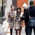 Zoë Kravitz et Olivia Thirlby découvrent le résultat de leurs folies glamour avec Annie Leibovitz