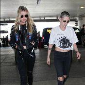 Kristen Stewart et Stella Maxwell : Modeuses amoureuses et assorties