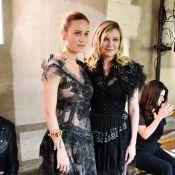 Fashion Week : Brie Larson et Kirsten Dunst, lumineuses pour la haute couture