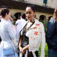 Tracee Ellis Ross - Défilé Rodarte, collection printemps-été 2018, à la Fashion Week de Paris. Paris, le 2 juillet 2017.