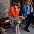 Anna Wintour - Défilé Rodarte, collection printemps-été 2018, à la Fashion Week de Paris. Paris, le 2 juillet 2017.