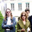 Carine Roitfeld - Défilé Rodarte, collection printemps-été 2018, à la Fashion Week de Paris. Paris, le 2 juillet 2017.
