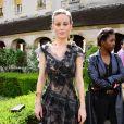 Brie Larson - Défilé Rodarte, collection printemps-été 2018, à la Fashion Week de Paris. Paris, le 2 juillet 2017.