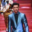 """Noé Elmaleh - Défilé de mode Hommes """"Dolce & Gabbana"""" 2018 lors de la fashion week de Milan. Le 17 juin 2017"""