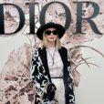 Jennifer Lawrence assiste au défilé Christian Dior (collection Haute Couture, automne-hiver 2017-2018) à l'Hôtel des Invalides. Paris, le 3 juillet 2017.