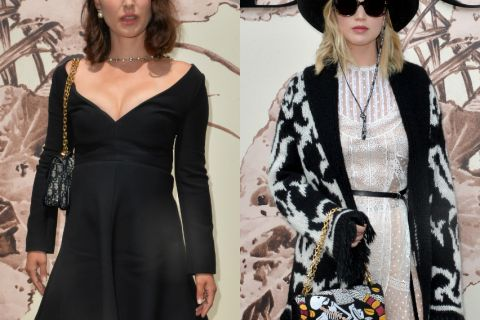Fashion Week : Natalie Portman et Jennifer Lawrence, craquantes pour Dior
