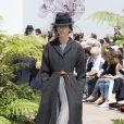 Défilé Christian Dior (collection Haute Couture, automne-hiver 2017-2018) à l'Hôtel des Invalides. Paris, le 3 juillet 2017.