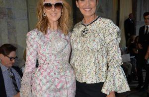 Fashion Week : Céline Dion complice avec Cristina Cordula devant Anna Wintour