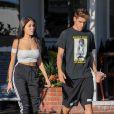 Madison Beer et son petit ami Jack Gilinsky sont allés déjeuner chez Fred Segal à West Hollywood, le 8 novembre 2016
