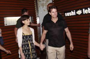 Les câlins Katie Holmes et Tom Cruise, un couple décontracté... mais toujours aussi glamour !