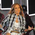 Jennifer Lopez en pleine répétition pour son concert du 4 juillet prochain dans les rues de New York, le 30 juin 2017