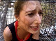 Camille Cerf terrorisée face aux tigres de Fort Boyard !