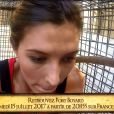 """Camille Cerf (Miss France 2015) en panique lors de l'épreuve du Safari dans """"Fort Boyard"""". Episode diffusé le 15 juillet 2017 sur France 2."""