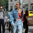 Gigi Hadid à New York, le 29 juin 2017.