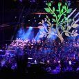 Calogero, ému - Concert en hommage aux victimes de l'attentat du 14 juillet 2016 à Nice, le 14 juillet 2017. © Bruno Bébert/Bestimage