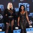 Blac Chyna et Shalana Hunter à la soirée BET Awards 2017 au théâtre Microsoft à Los Angeles, le 25 juin 2017 © Birdie Thompson/AdMedia via Zuma/Bestimage