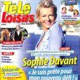 """Magazine """"Télé-Loisirs"""" en kiosques le 17 juillet 2017."""