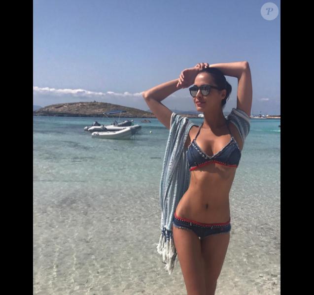Leila Ben Khalifa, sur Instagram le 16 juillet 2017.