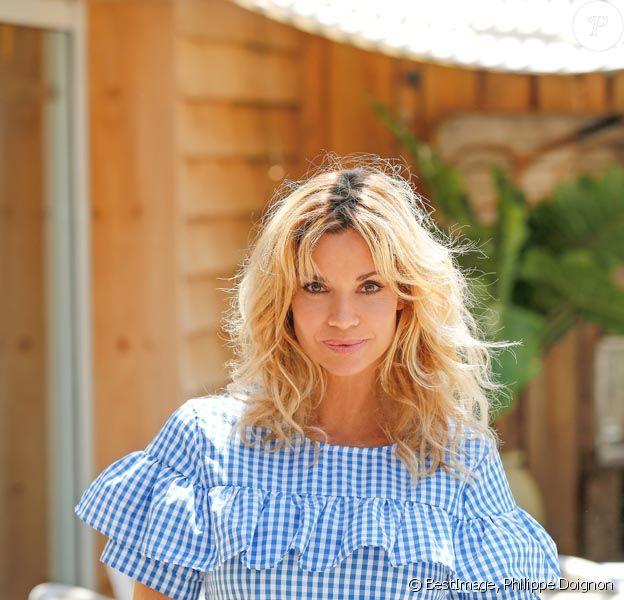 """Ingrid Chauvin lors d'un séance photo dans la maison du tournage de la nouvelle saga estivale de TF1 """"Demain nous appartient"""" à Sète, France, le 23 juin 2017. © Philippe Doignon/Bestimage"""