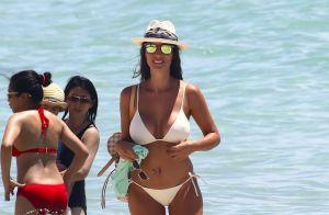 Ludivine Sagna torride en bikini canari... Bacary toujours absent