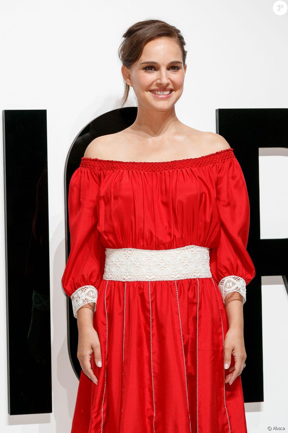 Natalie Portman assiste à la soirée 'DIOR FOR LOVE', organisée par Dior Parfums pour le parfum 'Miss Dior', à la Terrada Warehouse. Tokyo, le 19 juillet 2017.