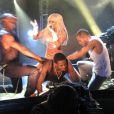 Lady Gaga en concert au Coco Club de Londres le 4 février 2009 : toujours plus extravagante...