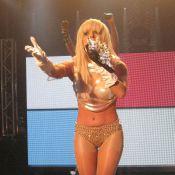 Lady GaGa : on parie combien qu'au prochain concert elle ne portera... rien ?