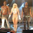 """Lady Gaga en concert au Coco Club de Londres le 4 février 2009 : """"euh, il est où le public, les gars ?"""""""