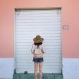 Lily Collins en vacances à Ischia en Italie - Photo publiée sur Instagram à la fin du mois de juillet 2017